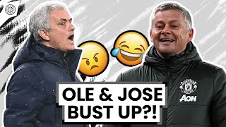 Solskjaer and Mourinho In Post Match Row! | Man United News