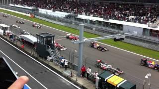 Formel 1 Start Nürburgring 2011