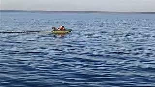 Hangkai 6 - Скорость 30 км/ч на лодке Аква-2600