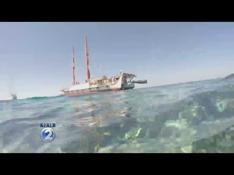 Hokulea makes a stop at biodiverse Ashmore Reef