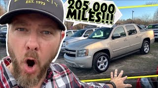 How About a Chevrolet Avalanche LT with 205,000 MILES   Buy or Walk Away? REVIEW