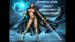 Cyogenic Stream (Bonus Track) Demon Love V1 Maxi Single-Synthetic Scum