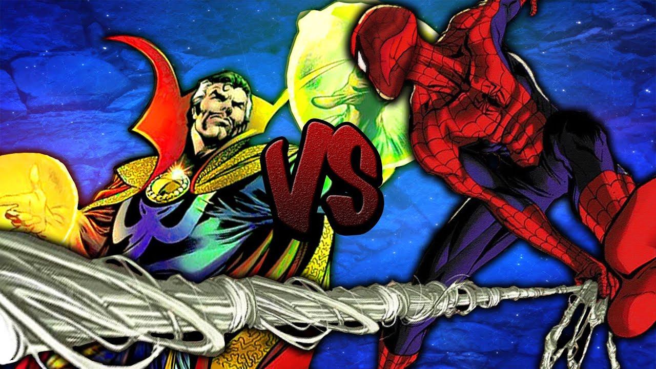 Who Wins? || Dr Strange Vs Spider-Man - YouTube