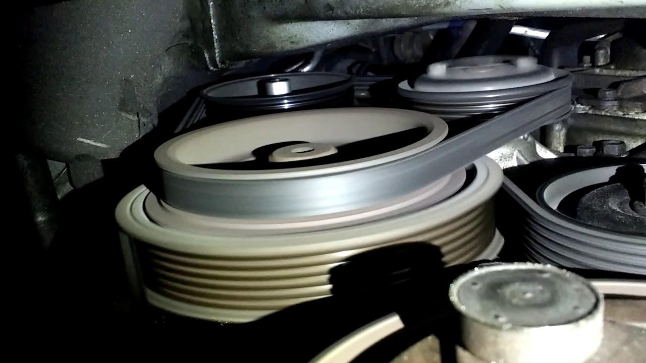 1998 Nissan Sentra Crankshaft Pulley Failure Customer Complain 2008 Maxima Alternator Rattle Issues