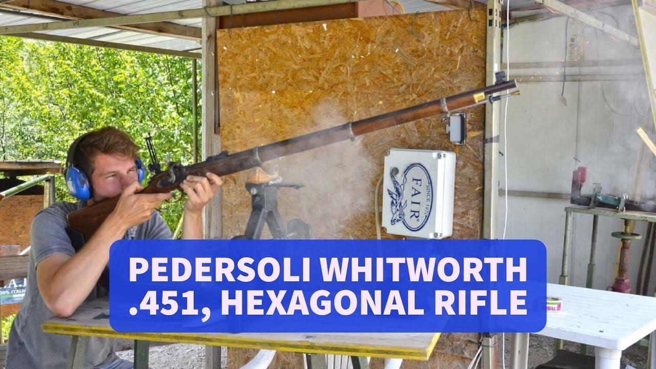 1000 Yards 1874 Sharps Long Range Rifle Pedersoli