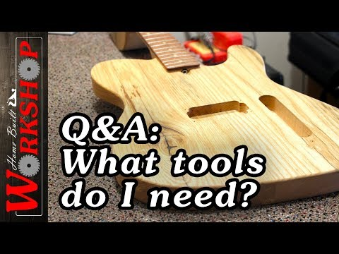 Q&A: Woodworking Tools to Build a Guitar