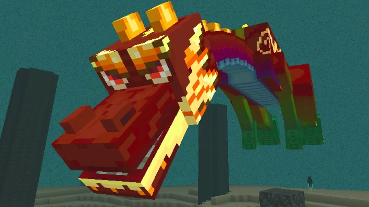 Image result for minecraft chinese dragon
