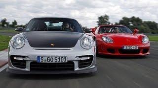 Porsche Carrera GT vs. GT2 RS - Das Duell