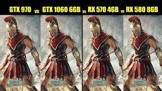 Скачать GTX 970 Vs GTX 1060 6GB Vs RX 570 4GB Vs RX 580 8GB In 2019 Tested At 19 Games FPS COMPARISON