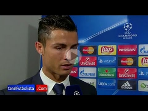 Discussion of Cristiano Ronaldo with a reporter after the Malmö vs Real Madrid 0 2 Audio • 2015