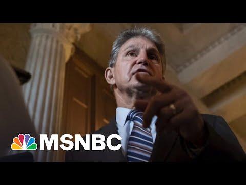 Senate Dems Consider Changing Voting Bill To Win Manchin's Vote
