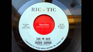 freddie gorman - take me back