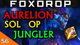 Aurelion Sol Jungle is OP (Full Gameplay) - League of Legends