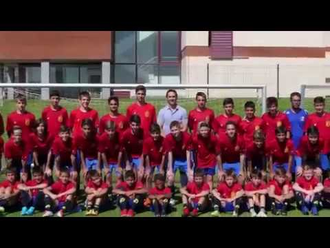 Spain Federation National Team International Soccer Camp in Madrid, Spain