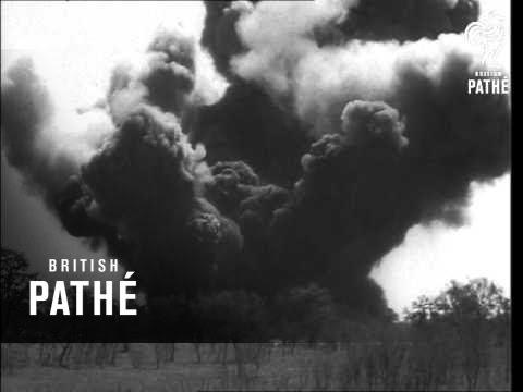 Blowing Up Surplus Land Mines (1946)