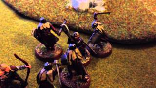 Lord of the Rings SBG Scenario Battle Report - Ambush at Amon Hen Part 1