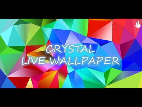 Crystal Live Wallpaper - YouTube