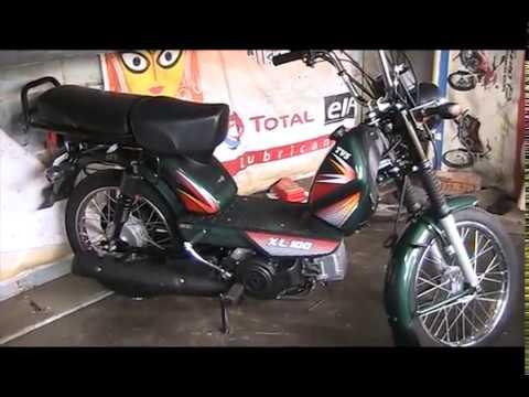 Tvs Xl 100 Moped Super Heavy Duty New Tvs Xl 100 Youtube