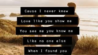When I Found You Lyrics - Jasmine Rae