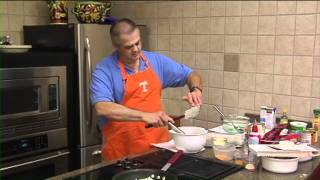 Go Vols! Orange And White Recipes With Lewis Bausell - End Zone Pecan Pie