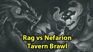 Hearthstone: Rag vs Nefarion - ALMOST LEAGUE OF EXPLORERS TIME