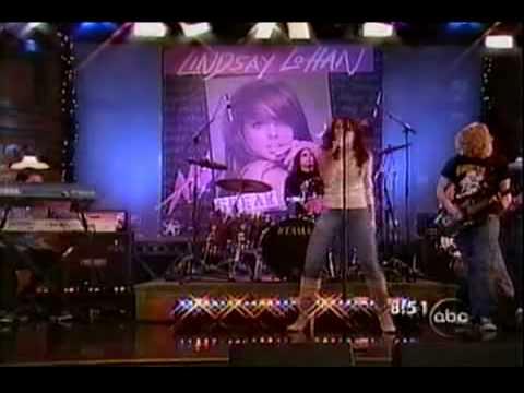 Lindsay Lohan Over Live