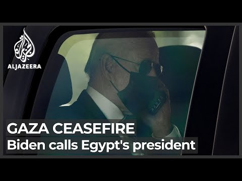 Biden discusses Gaza ceasefire with Egypt's President el-Sisi