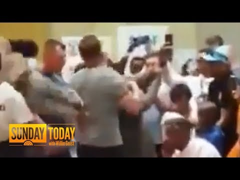 Arnold Schwarzenegger Kicked In The Back During South Africa Trip | Sunday TODAY