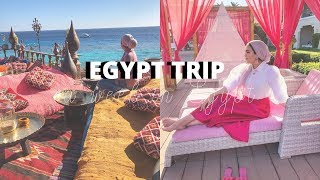ONE WEEK IN EGYPT : TRAVEL VLOG | Zaina Moussa