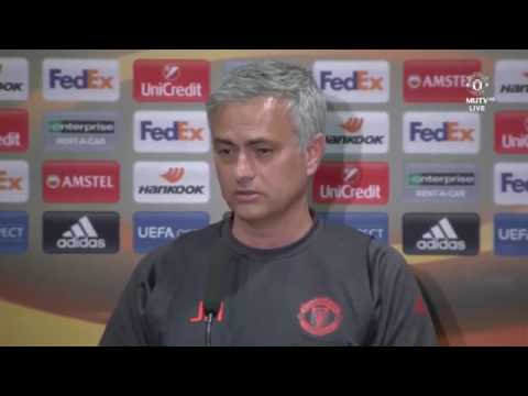 Jose Mourinho & Wayne Rooney's Pre Match Presser   Manchester United vs Celta