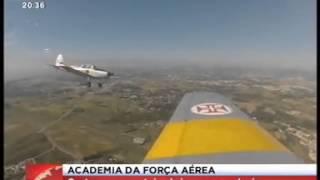 Reportagem SIC sobre formação de pilotos da Força Aérea