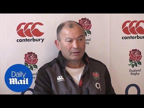 Eddie Jones talks about dropping Mike Brown ahead of France clash  Daily Mail