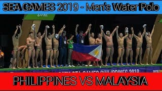 Philippines vs Malaysia | 2019 SEA Games Men's Water Polo - Final (1st Quarter)