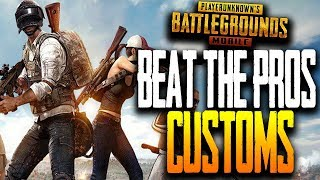 """BEAT THE PROS"" COMMUNITY CUSTOM MATCHES - PUBG Mobile GS, NME, Wildcard, UR"