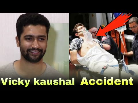 Bollywood Actor Vicky Kaushal Gets Injured😭