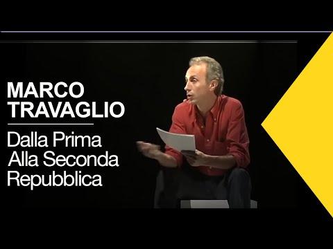 Marco Travaglio racconta passaggio traumatico dalla Prima alla Seconda Repubblica