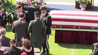 Sergeant  Dustin Wright's  Funeral Service Part 1