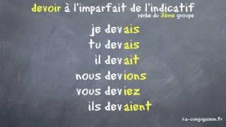 Devoir A L Imparfait De L Indicatif La Conjugaison Fr Youtube