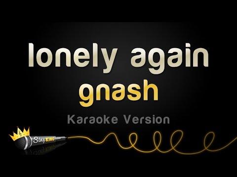 gnash - lonely again (Karaoke Version)