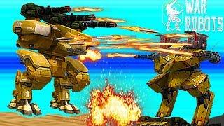 Rhino , LEO и другие роботы War Robots - БИТВА РОБОТОВ # 26 Видео для детей как мультик.