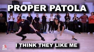 Proper Patola Namaste England Arjun Parineeti Badshah Diljit SAgrooves Choreography