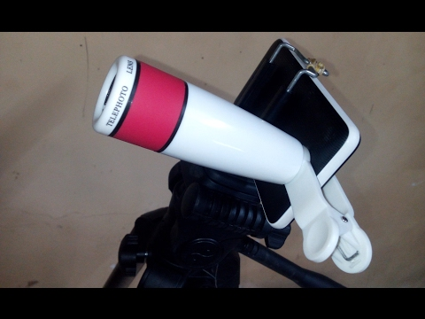 Universal 12x Telephoto Lens For Smartphones ||  Unboxing And Review || TechReviews