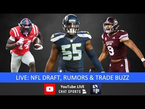 2019 NFL Draft, Frank Clark, Montez Sweat, D.K. Metcalf, #1 Overall Pick & NFL Draft Trade Rumors