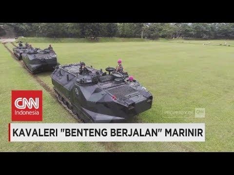Kavaleri 'Benteng Berjalan' Korps Marinir untuk Operasi Amfibi- TNI AL