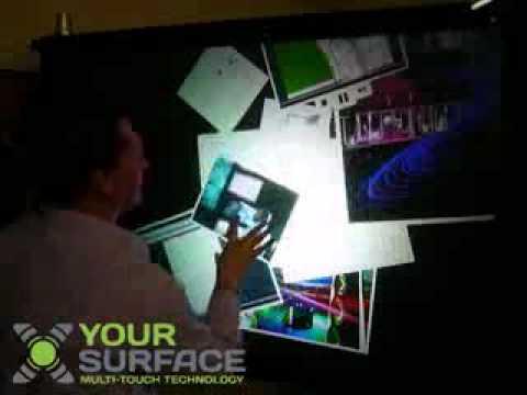 True multi-person interactive technology.