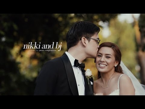Nikki Gil and BJ Albert s Wedding: Right Time