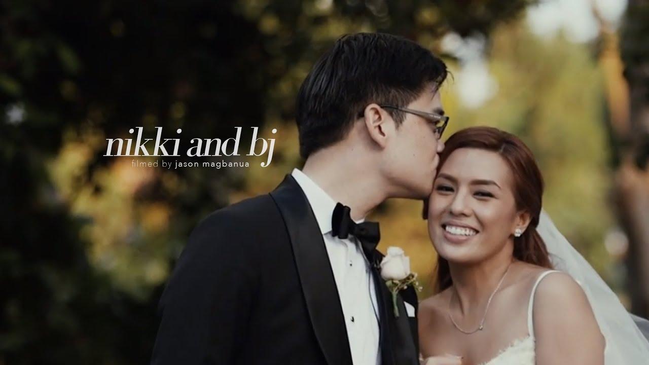Nikki Gils Wedding.Nikki Gil And Bj Albert S Wedding Right Time