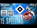 FIFA 16 - KARRIERE [S04E23   HD+] - STOLPERN WIR? ● 15. Spieltag vs. 1. FC KÖLN   #215