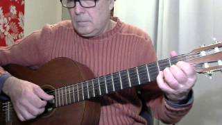 I Just Called To Say I Love You - for solo guitar