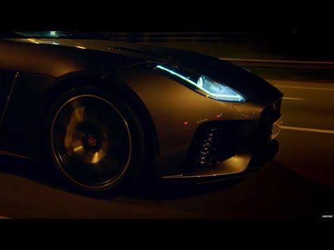 Race To Geneva In Jaguar F-Type SVR - Top Gear: Series 23 - BBC